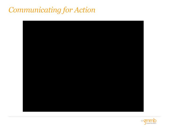 Communicating for Action