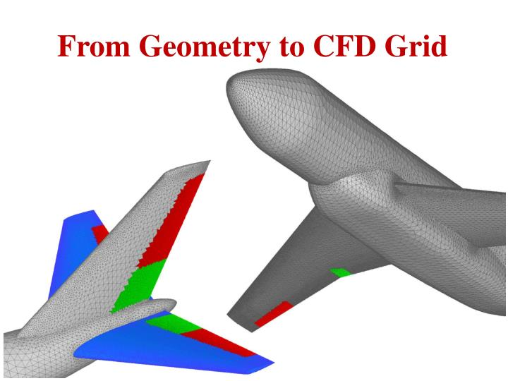 From Geometry to CFD Grid