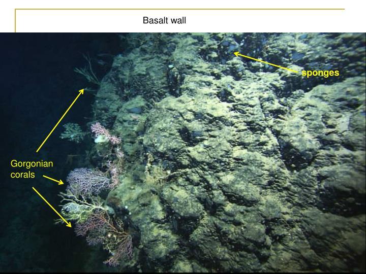 Basalt wall