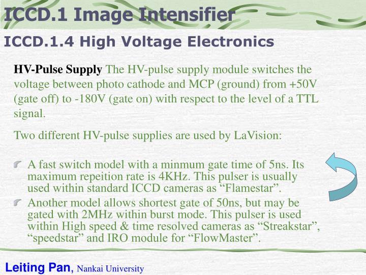 ICCD.1 Image Intensifier