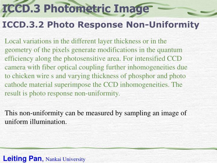 ICCD.3 Photometric Image