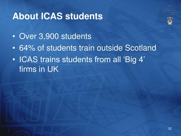 About ICAS students