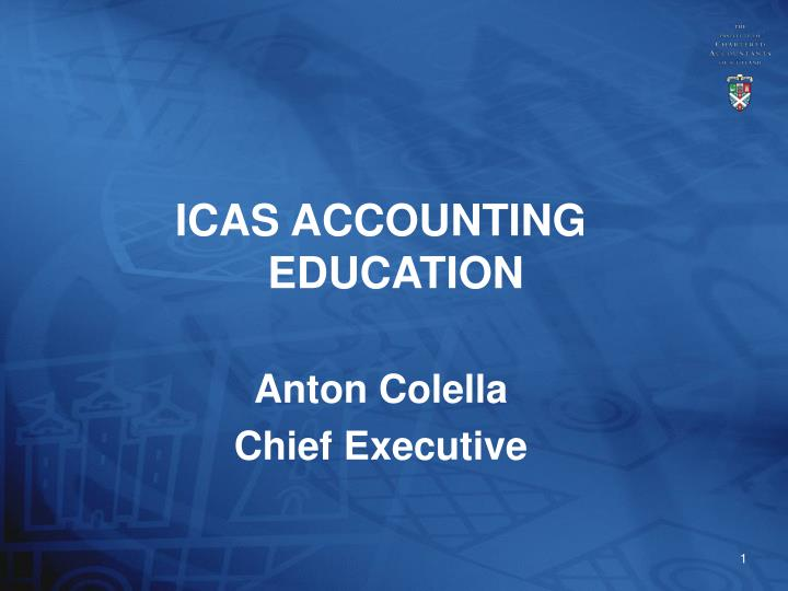 ICAS ACCOUNTING EDUCATION