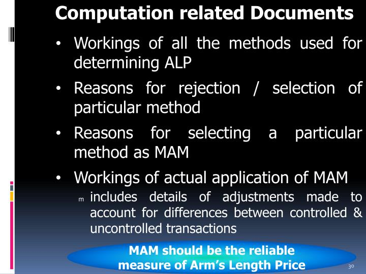 Computation related Documents
