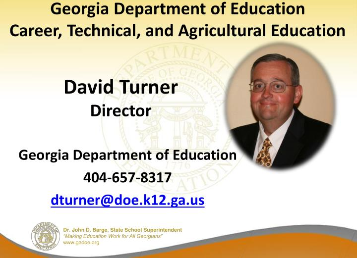 Georgia Department of Education
