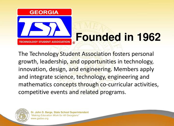 Founded in 1962