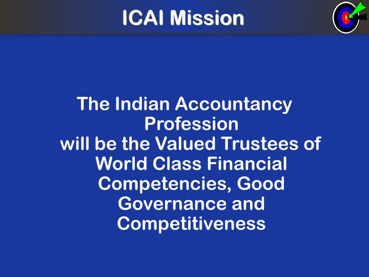 ICAI Mission