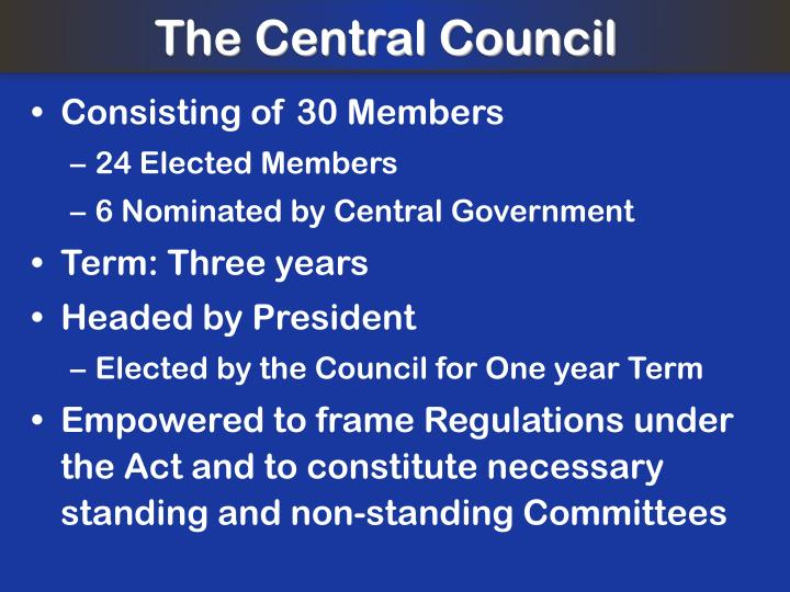 The Central Council