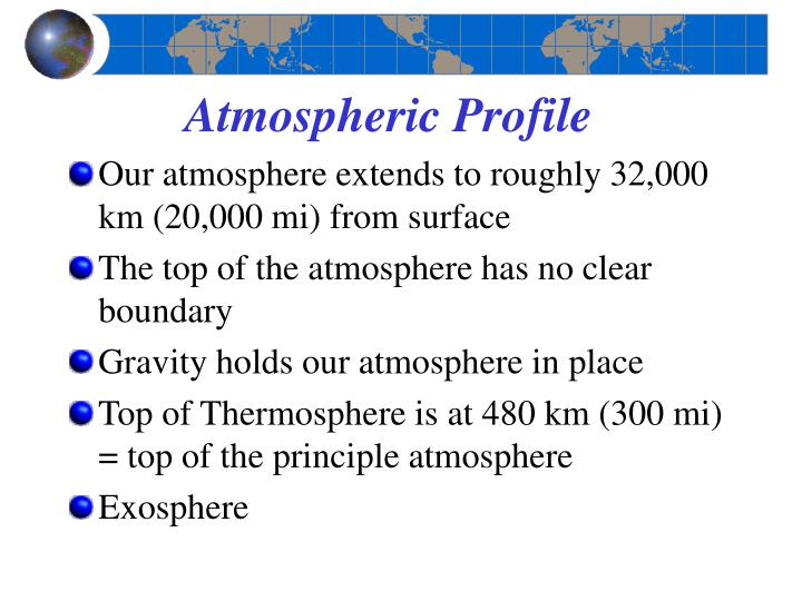 Atmospheric Profile