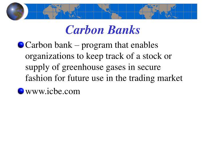 Carbon Banks