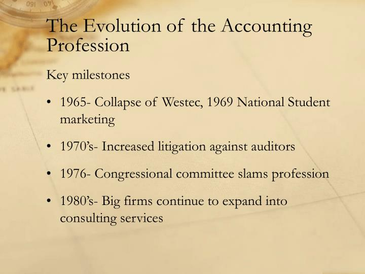 accounting the profession How accounting has been changed over time by technology luca pacioli turning it into a fast-paced and dynamic profession the beginning of the shift in accounting technology came in the form of simple spreadsheet programs visicalc.