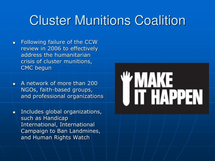 Cluster Munitions Coalition