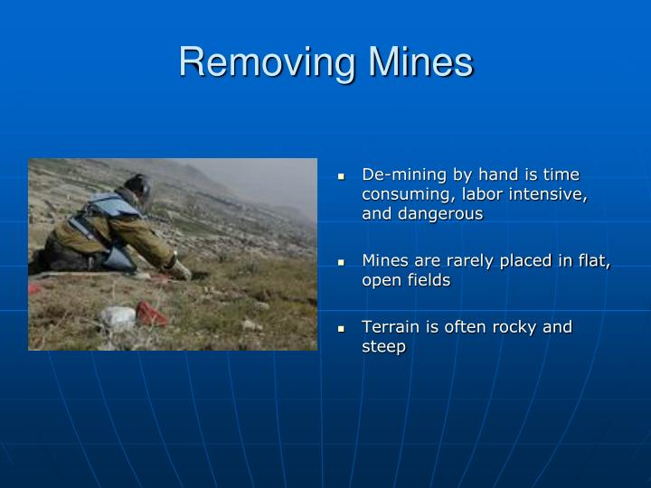 Removing Mines