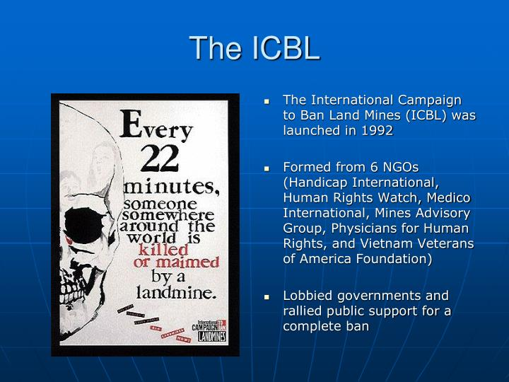 The ICBL