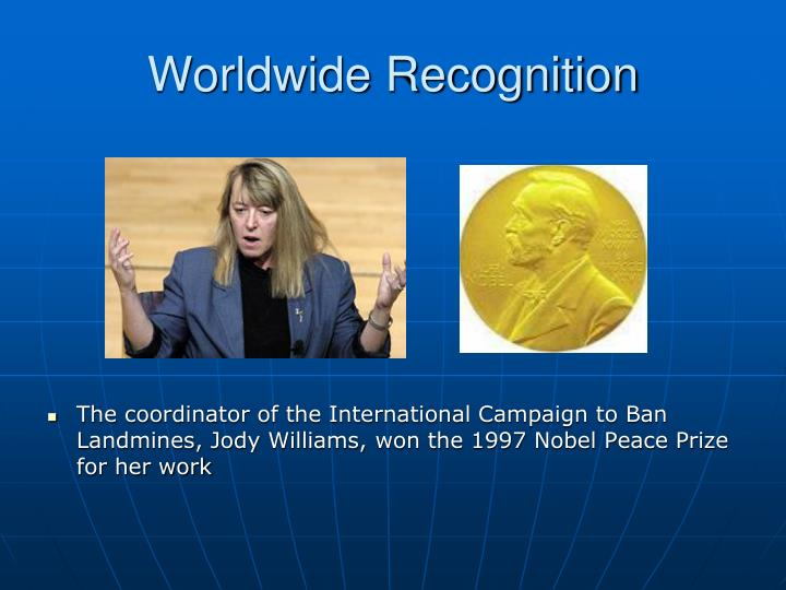 Worldwide Recognition