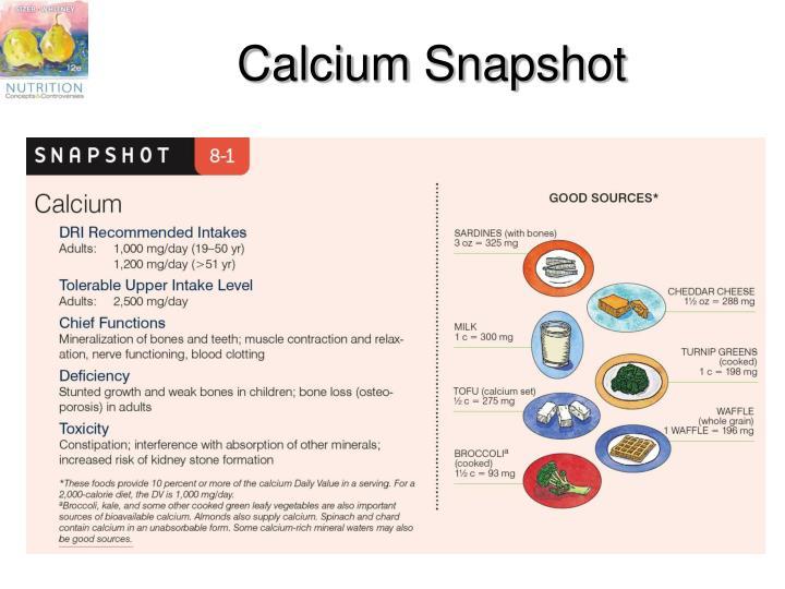 Calcium Snapshot
