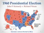 1960 presidential election john f kennedy v richard nixon
