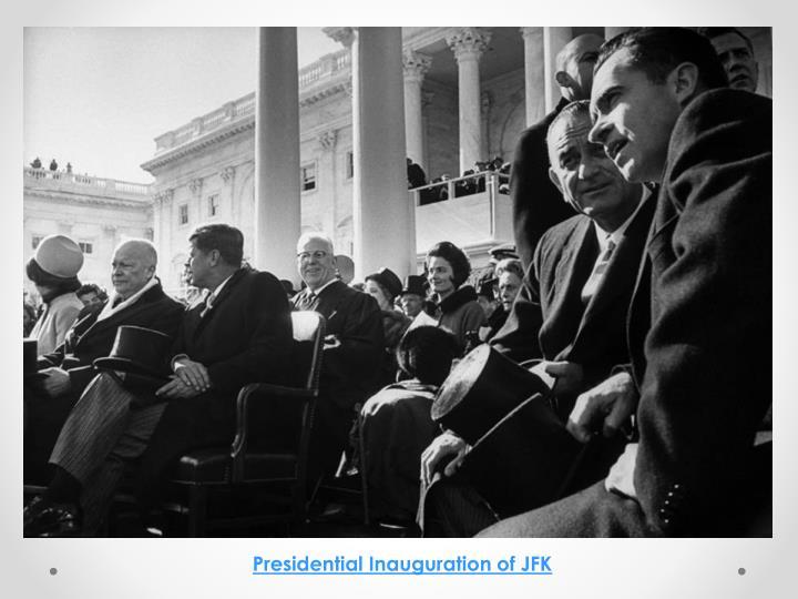 Presidential Inauguration of JFK