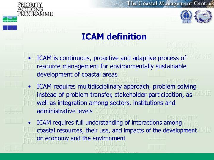 ICAM definition
