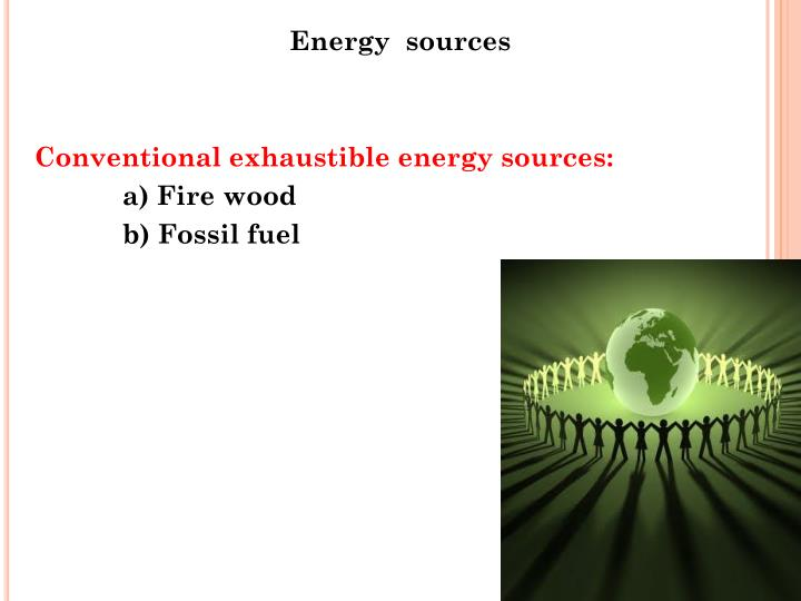 Energy  sources