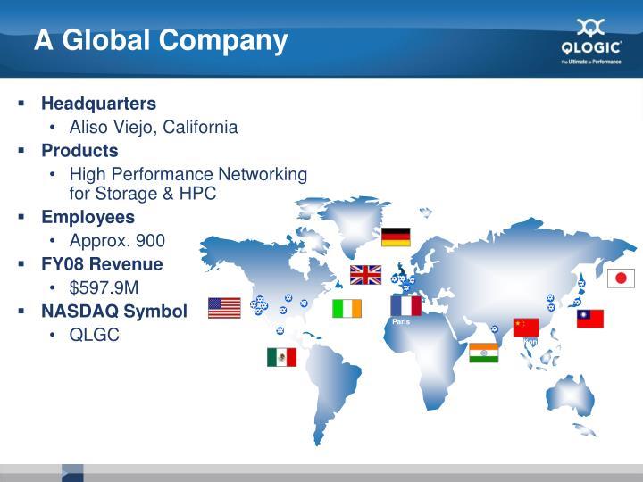 A Global Company