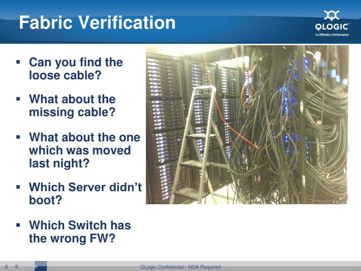 Fabric Verification