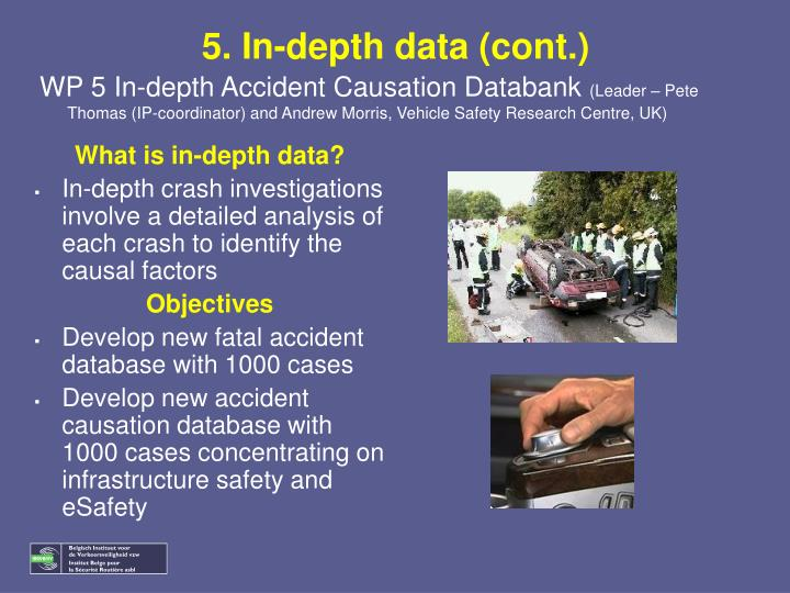 5. In-depth data (cont.)