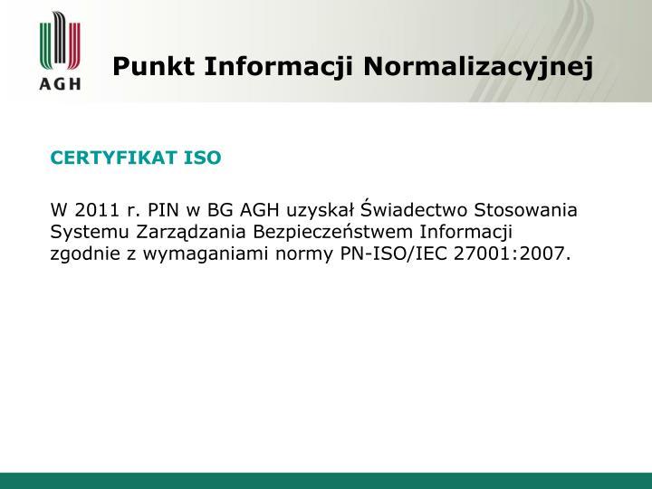 Punkt Informacji Normalizacyjnej