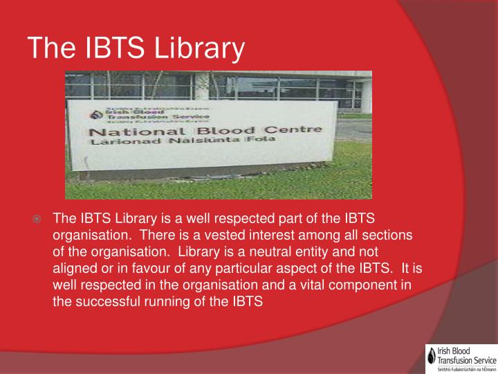 The ibts library