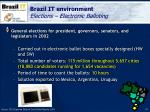 brazil it environment elections electronic balloting