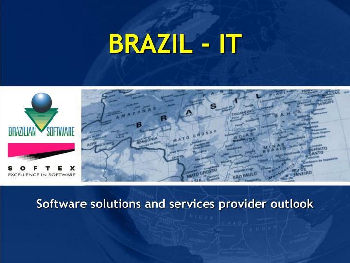 BRAZIL - IT