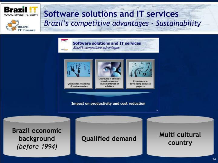 Software solutions and IT services