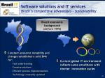 software solutions and it services brazil s competitive advantages sustainability1