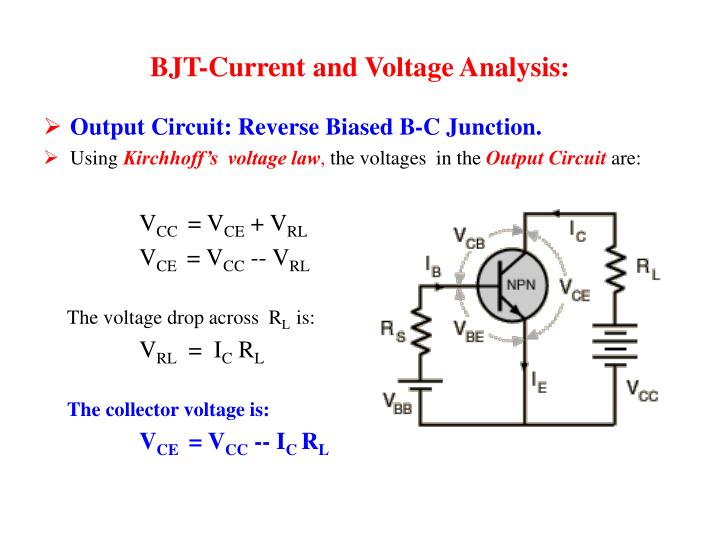 BJT-Current and Voltage Analysis: