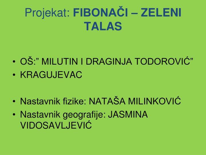 Projekat: