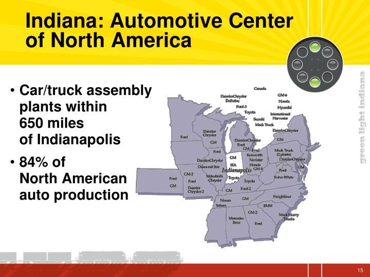 Indiana: Automotive Center