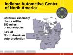 indiana automotive center of north america