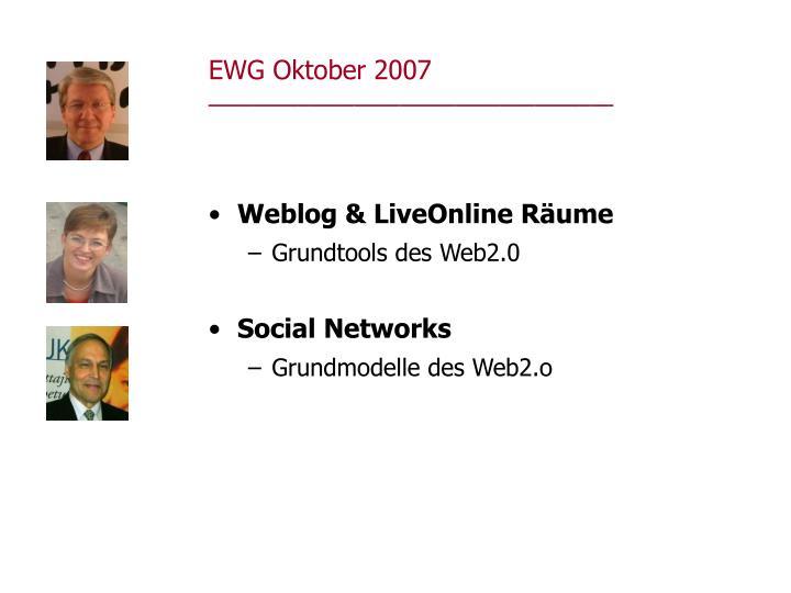 EWG Oktober 2007