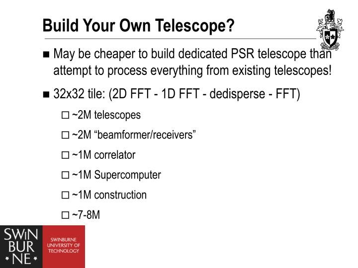 Build Your Own Telescope?