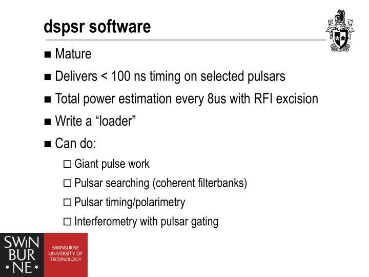 dspsr software