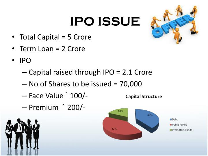 IPO ISSUE