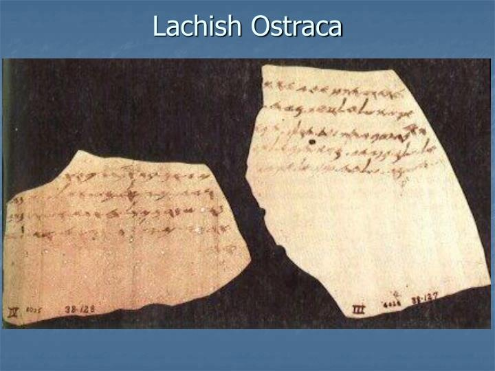 Lachish Ostraca