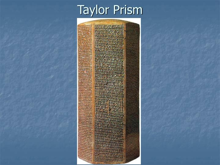 Taylor Prism