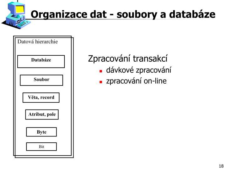 Datová hierarchie