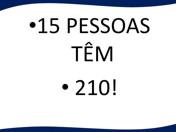 15 PESSOAS TM