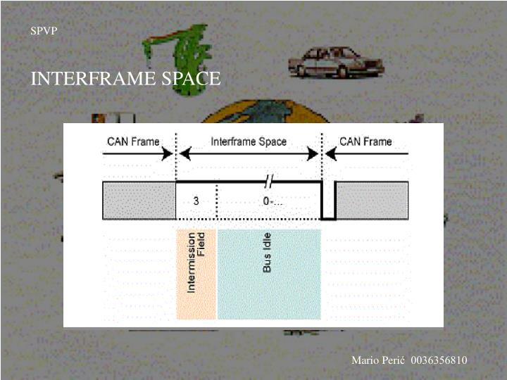 INTERFRAME SPACE