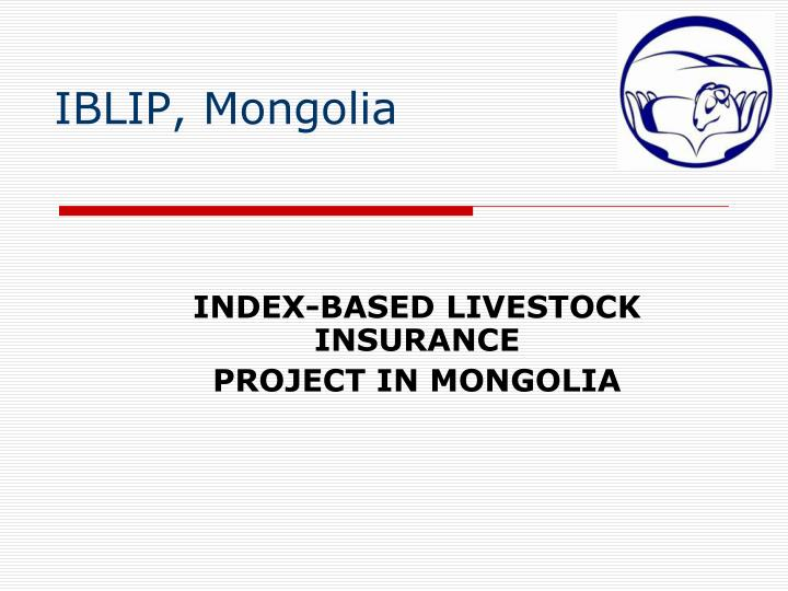 IBLIP, Mongolia