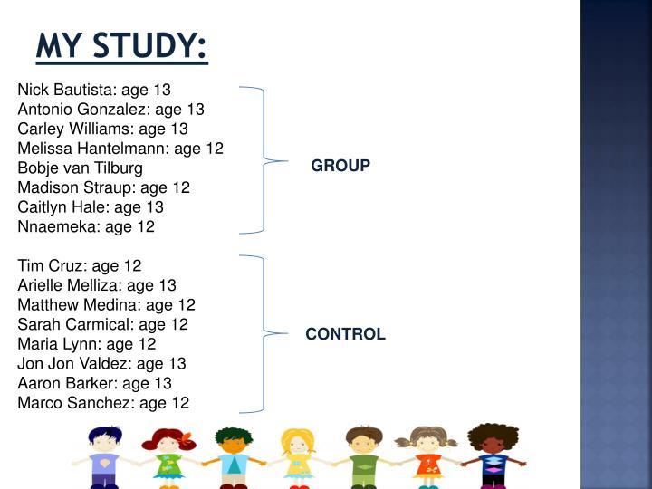 My Study: