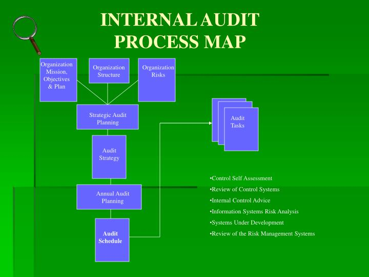 INTERNAL AUDIT PROCESS MAP