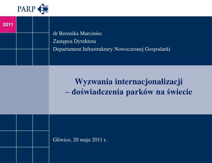 dr Berenika Marciniec